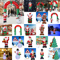 Inflatable Santa Claus Snowman Christmas Outdoor Yard Arch Ornaments Xmas Decor