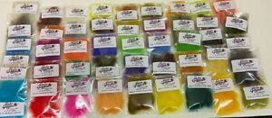 Gordon Griffiths Seals Fur Substitute - Pack of 46 Colours