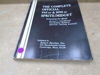 SPRITE MIDGET 950 1100 Used Genuine Service Manual VP 1967 VP-CM350