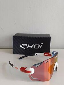 Original Ekoi Lotto Soudal Rad Brille dunkel Lens