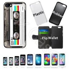Custom Case for iPhone 6S 7 7 Plus+Galaxy S6 S7+STYLUS-Retro Cassette Tape Case