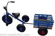 Triciclo Longkart Modelo Sevilla+ REMOLQUE ( asiento regulable)