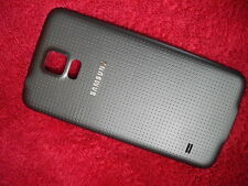 Black Back Battery Housing Door Case Cover for Samsung Galaxy s 5