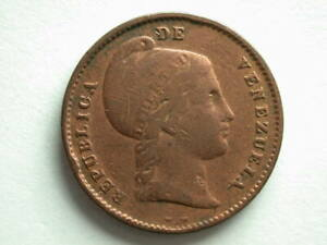 Venezuela 1843 1/4 Centavo