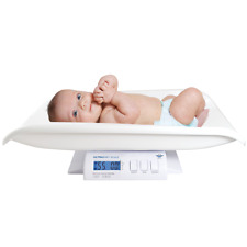 My Weigh Ultra Baby or Pet Digital Scale 55lb x 0.1oz White with AC Adapter