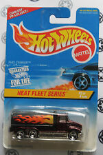 hot wheels 1/64 heat fleet series fuel tanker 539