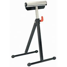 Adjustable 132lb Capacity Steel HeavyDuty Folding Miter Saw Support Roller Stand