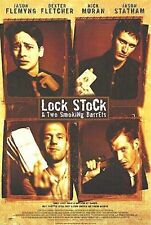 A4 Guy Ritchie Film LOCK STOCK AND 2 SMOKING BARRELS 1998 MOVIE POSTER  A3
