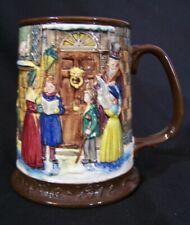 Vintage 1972 Beswick Royal Doulton Dickens Christmas Carol Tankard Stein Mug Cup