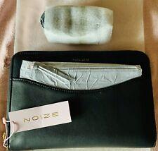 Noize Black Faux Leather Crossbody 3.5'x5.5' Cruelty Free/Vegan Product