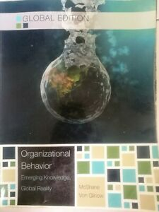 Organizational Behavior -Emerging Knowledge,Global Reality, Mc Shane, Von Glinow