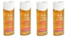 4 Pack Neutrogena Body Clear Body Wash - 8.5 fl oz Each