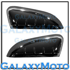 11-13 Ford Explorer Triple Black Chrome TOP HALF triple plated Mirror Cover