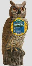 "New!! Dalen Gardeneer 18"" SOLAR SOL-R OWL Head Moves Scarecrow Decoy Pest SRHO-4"
