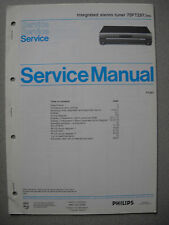 Philips 70 FT297 Tuner Service Manual