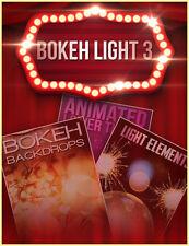 Bokeh Light 3 (motion graphics) wedding lower thirds bokeh (same day download)