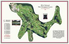 PGA National-1981 Fazio/Nicklaus-2015  Honda Championship a VintageGolfCourseMap