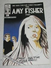 The Joey Buttafuoco/Amy Fisher Story 1992 1st Ed Comic Book Graphic Novel EUC