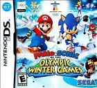 Mario & Sonic at the Olympic Winter Games (Nintendo DS, 2009) Complete Fast Ship