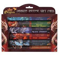 Età dei Draghi Bastoncini Di Incenso Joss Gift Pack (6 CONFEZIONI) Fantasy Mitologica Regalo