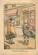 Enfants Kids Vacances Colonies Catholique avec l'Abbé  France 1936