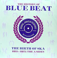 THE HISTORY OF BLUE BEAT THE BIRTH OF SKA BB51 - BB75 THE A SIDES, 2 LP GATEFOLD