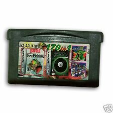 【 170 in 1 】 Nintendo Game Boy Advance SP  Handheld System Cartridges