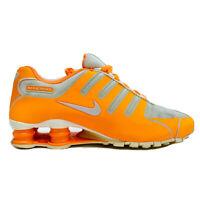 Nike Shox NZ NS 'Bright Citrus' Women's Size 8.5 Running Shoe Orange 580574-800