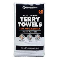 Member's Mark Terry Towels (60 pk.)