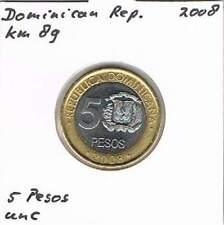 Dominicana 5 pesos 2008 UNC - KM89 (ml055) bimetal