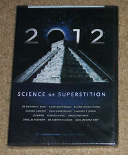 2012 Science Or Superstition DVD New
