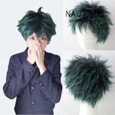 Boku no Hero Academia Midoriya Izuku Anime Cosplay Wig +Wig Cap Short Curly hair