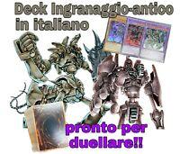 Yu-Gi-Oh! Deck Mazzo Completo - Ingranaggio-Antico - ITALIANO 40 Carte + EXTRA