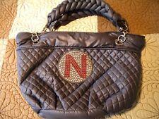"Univeristy of Nebraska Big Red  ""N"" -Women's Hobo Huskers Handbag Purse Gray"