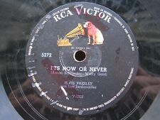 ELVIS PRESLEY 78 RPM IT'S NOW OR NEVER / A MESS OF BLUES RCA COLOMBIA 5272