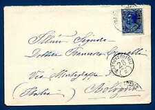 MONACO - 1924-1933 - BUSTA- Destinazione Bologna.Principe Louis II. R680