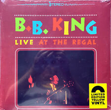 B.B. King LP Live At The Regal - Limited Edition, Reissue, Yellow - Europe (M/M
