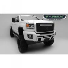 15-18 GMC SIERRA HD T-REX STEALTH TORCH SERIES BLACK 1-PIECE LED GRILLE.