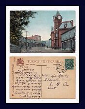 CANADA NOVA SCOTIA SPRINGHILL MAIN ST 1909 LIZZIE YOUNG, CHARTLEY, MASSACHUSETTS