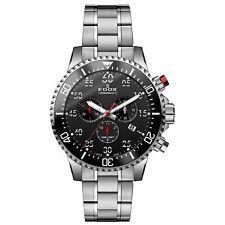 EDOX 10227 3M NBN Men's Chronorally S Black Quartz Watch