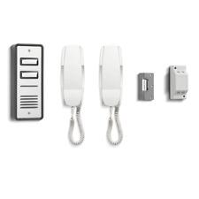 C9A - 2 vías Bell 902 Audio Teléfono Intercomunicador Con Cerradura Eléctrica De La Puerta Kit Y Potencia