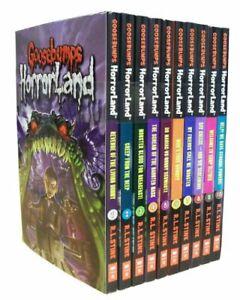 Goosebumps Horrorland Series Collection R L Stine 10 Books Set (Revenge Of The L