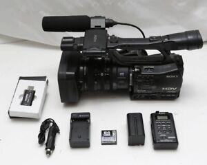 Sony HVR-Z7U HD 1080i Camcorder, With MRC1K recorder & HDMI capture card