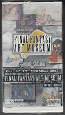 Final Fantasy Art Museum Trading Card Fourth Edition Sealed Box Japanese