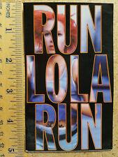 Run Lola Run (Lola Rennt) Sticker (Movie Theater Promo)
