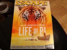 ESCAPE . APOLLO CINEMA FILM LISTINGS MAGAZINE NOV / DEC 2012 . THE HOBBIT . NEW