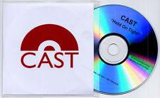CAST Hold On Tight 2012 UK 1-trk promo test CD