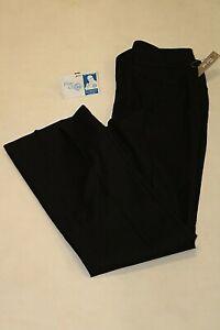 NEW Ann Taylor Womens Size 4P Petite Black Dress Pants Bootcut Curvy NWT