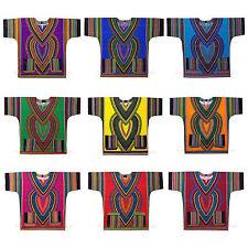 African print dress dashiki Top Hippie Vintage Boho WHOLESALE 10 piece Mix Color