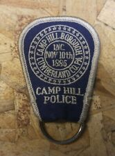 Camp Hill Borough Police Vintage Embroidered Key Chain - PA Pennsylvania